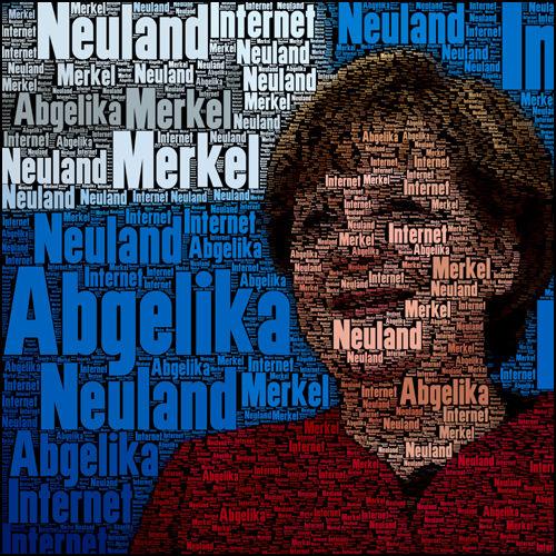 Angela Merkel und dass Neuland Internet