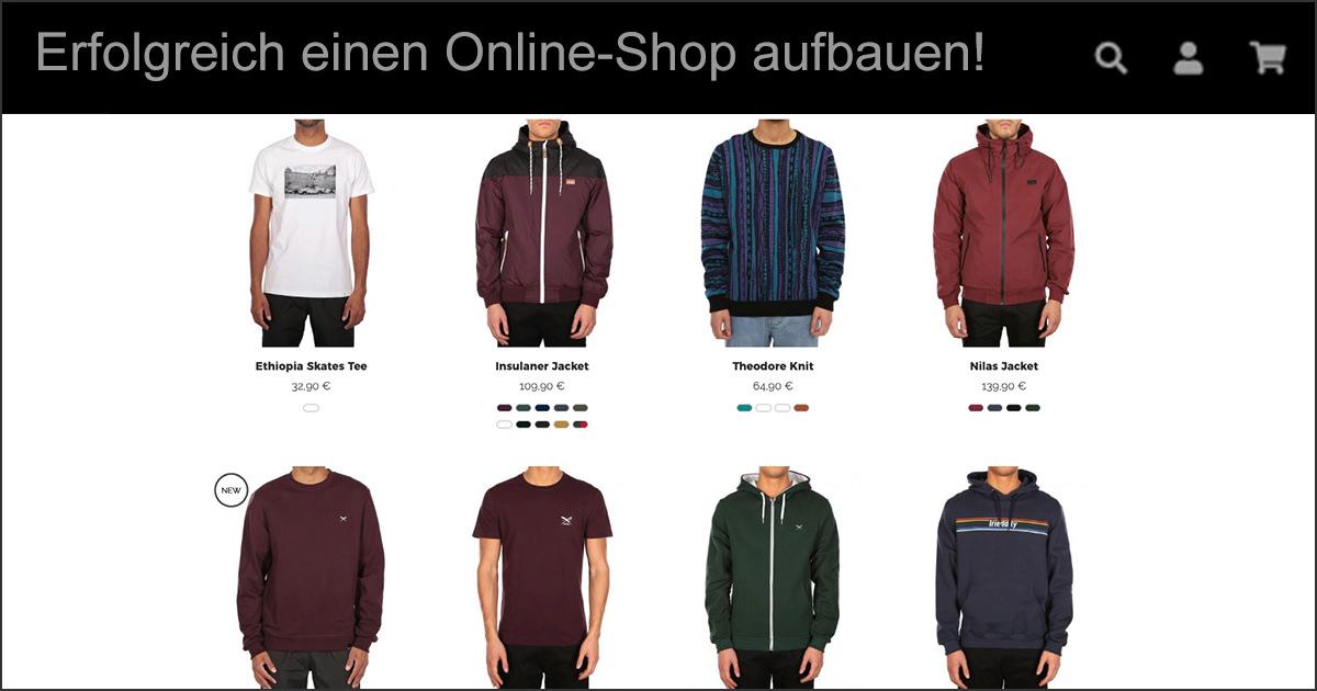 Online Shop Starten